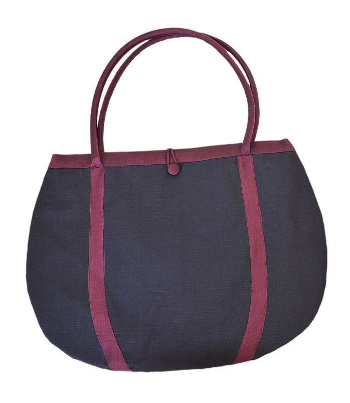 sac de shopping en soie, pratique et léger, vintage, taille généreuse