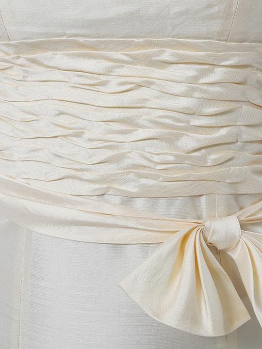 Robe longue en soie Émilie