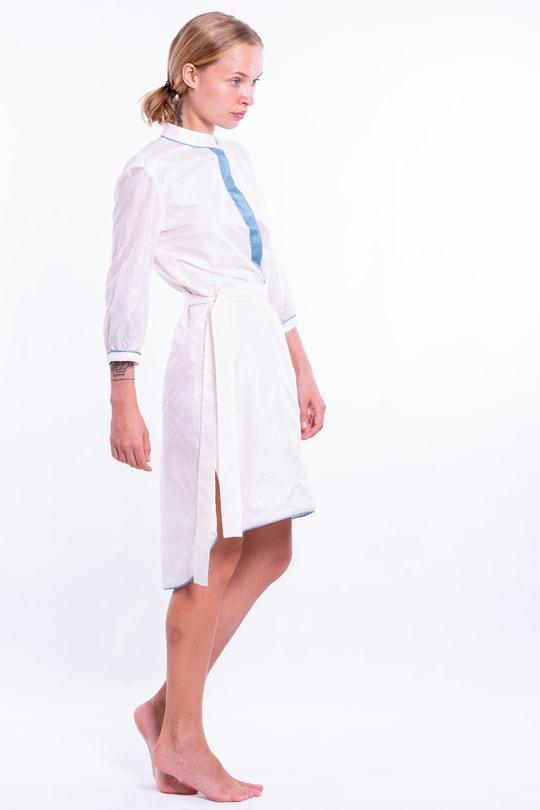 Silk dress Alexia