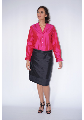 Flamenco silk shirt