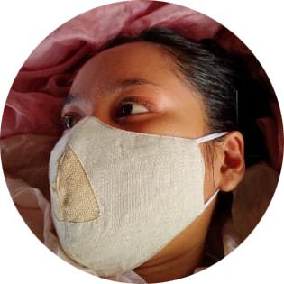Face mask Savin (set of 5 masks)